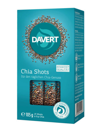 Davert Chia Shots