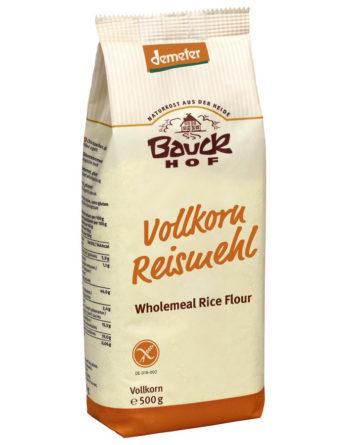 Bauckhof Reismehl glutenfrei