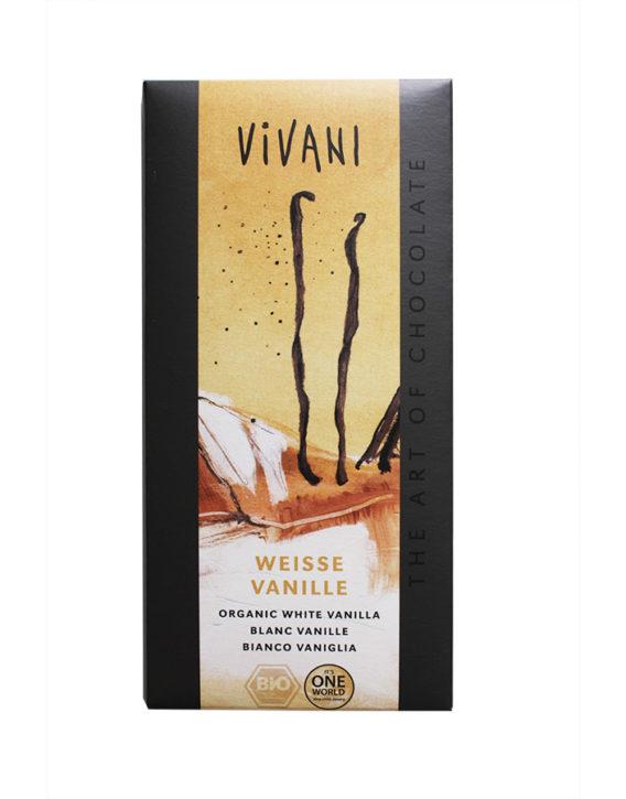 Vivani Schokolade Weisse Vanille
