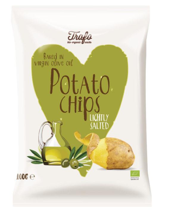 Trafo Kartoffel Chips Natives Olivenöl