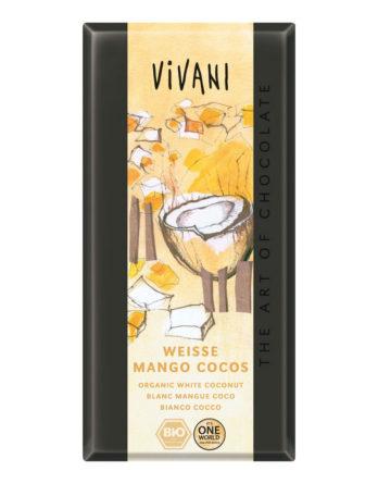 Vivani Weisse Mango Cocos Schokolade