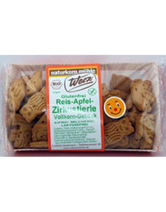 Werz Reis-Apfel-Zirkustierle Kekse glutenfrei