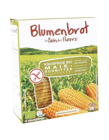 Blumenbrot Maisschnitten glutenfrei