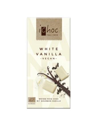 Vivani White Vanilla Rice Choc Reisschokolade vegan