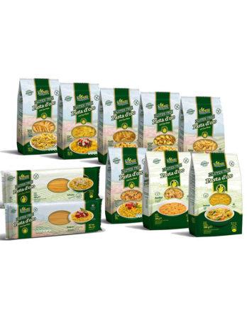Pasta D'Oro glutenfreie Nudeln Kennenlernpaket